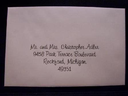 Tmx 1211859319867 447 Envelope X Caledonia wedding invitation
