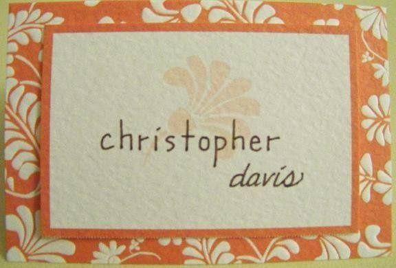 Tmx 1221165879542 Placecardorangeg Caledonia wedding invitation