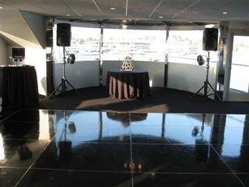 Dj Set-up on Electra Cruises