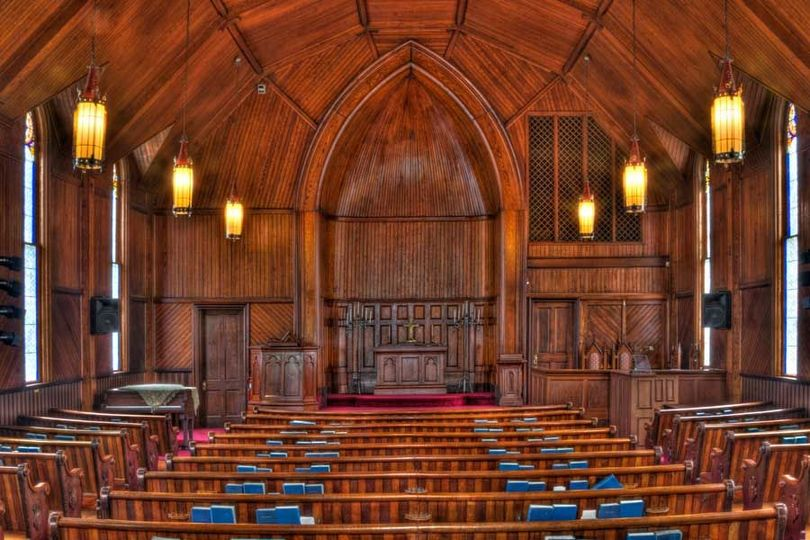 Maple Street Chapel interior