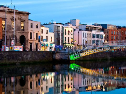 Tmx 1375313212447 Dublin River Liffey Bridge North Conway wedding travel