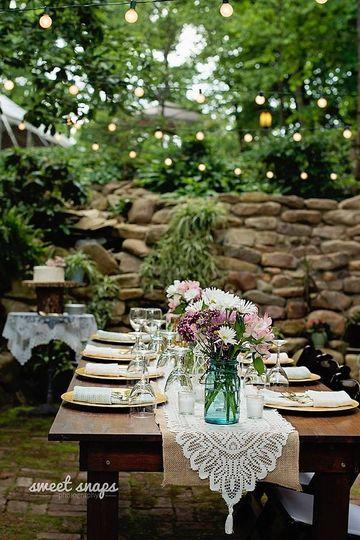 Long table setup | Sweet Snaps Photography