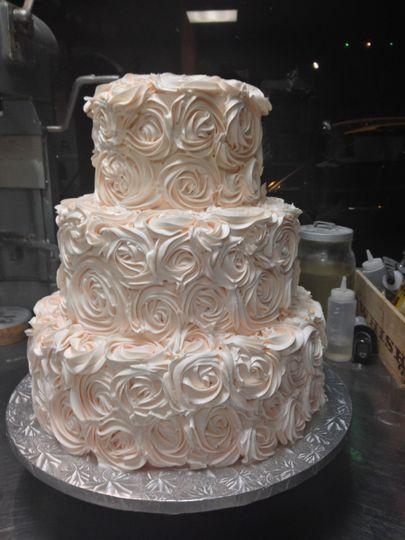 White rose texture