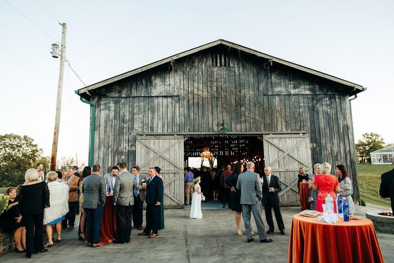 The Silver Creek Barn   Patio
