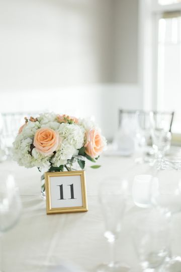 Numbered centerpiece