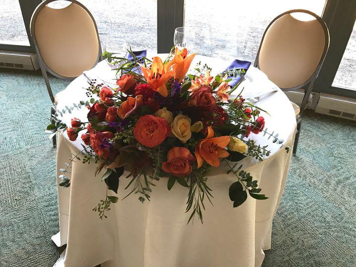 # Sweetheart table