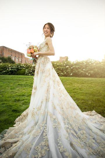 uw bridal portrait