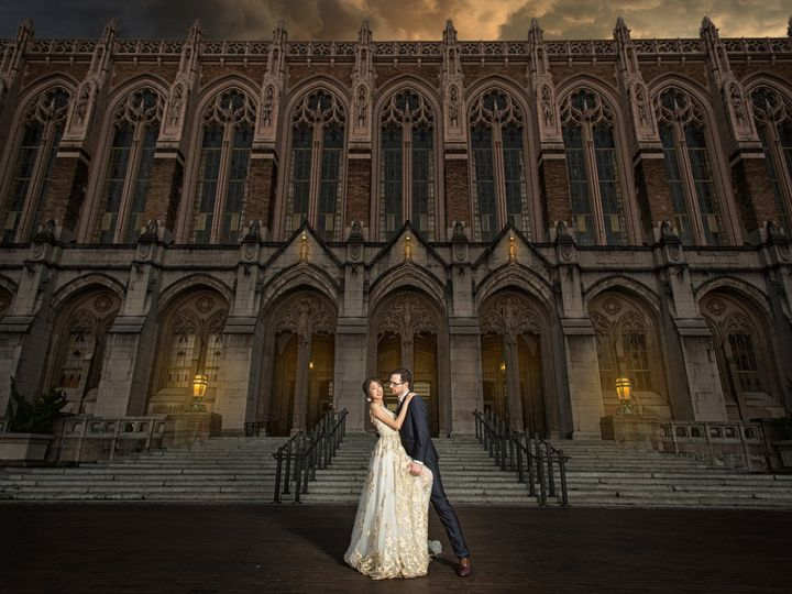 Tmx 1504924793370 Wedding Photo Uw Suzzalo Library Seattle, WA wedding photography