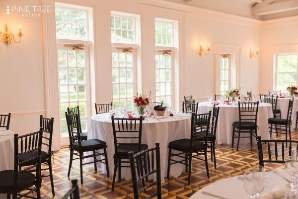 Ballroom ready for dinner...