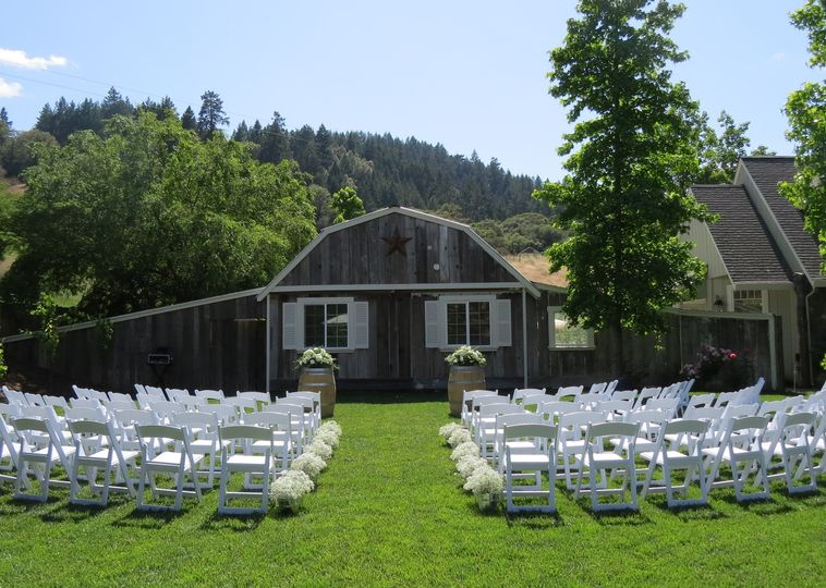 One of many ceremony locations