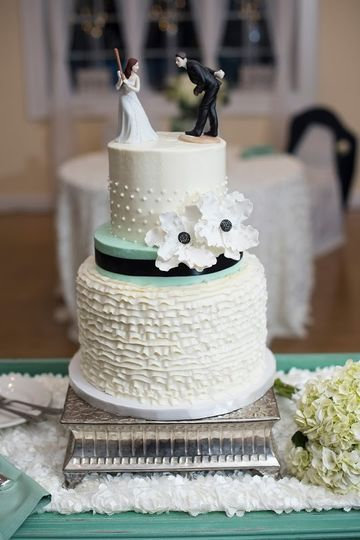 Wedding cake - photo seth dunn photography