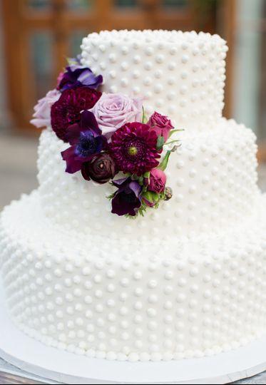 Three layers cake