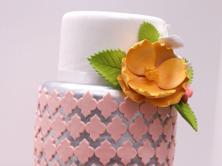 Tmx 1484239299598 Cake Design New Northborough, Massachusetts wedding cake
