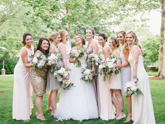 pastel bridesmaids washington dc wedding bonnie se