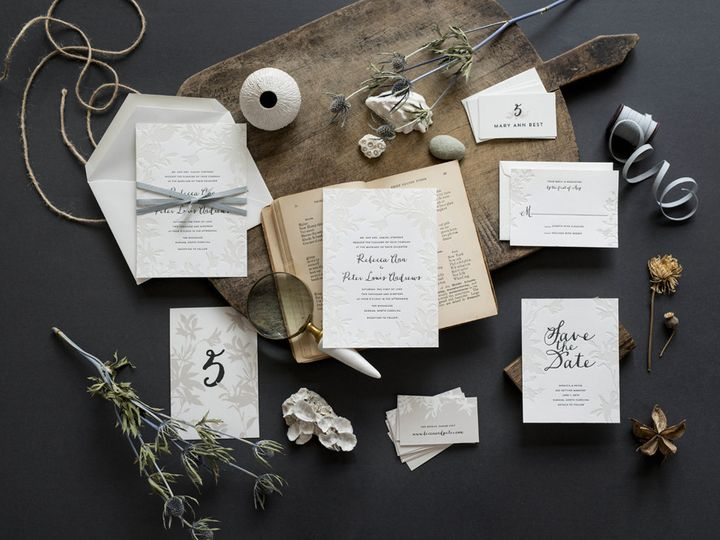 Tmx 1444241176268 Hellotenfold Lima Weddinginvitation Suite Durham wedding invitation