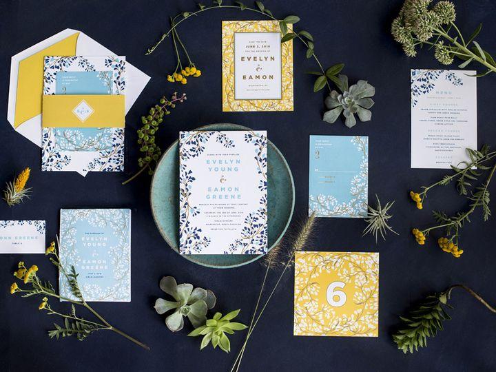Tmx 1444241192410 Hellotenfold Vine Wedding Invitation Botanical Sui Durham wedding invitation