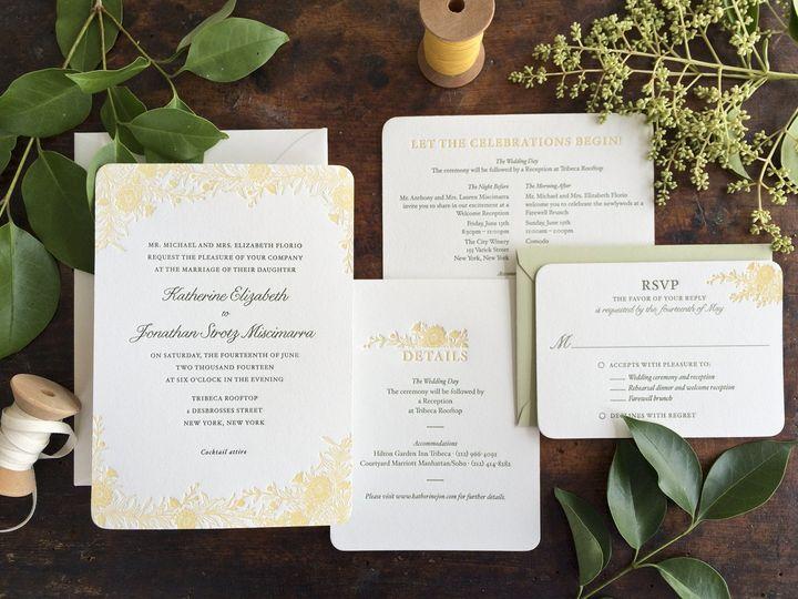 Tmx 1444241361936 Wildflower Wedding Invitation Durham wedding invitation