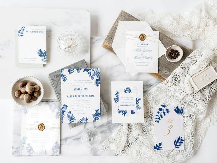 Tmx 1444241386112 Hellotenfold Fern Wedding Invitation Suite Durham wedding invitation