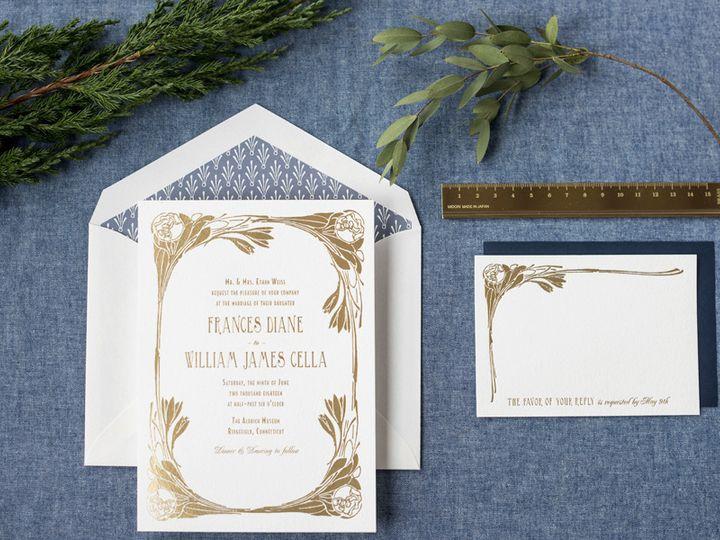Tmx 1444243596081 Nora New Durham wedding invitation