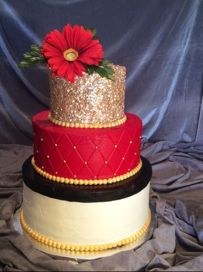 Bold and beautiful by Très Chic Bakery