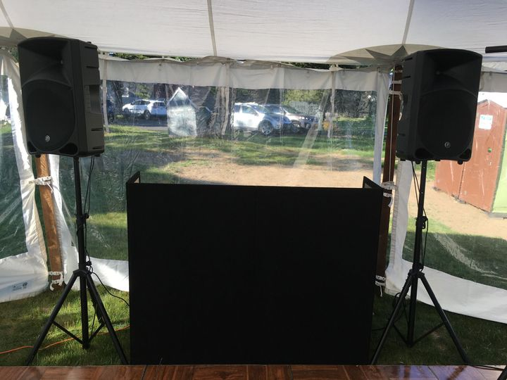 Disc Jockey Booth
