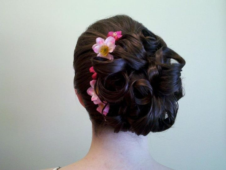 Tmx 1341326624849 CherryblossomUpdo Scarborough wedding beauty