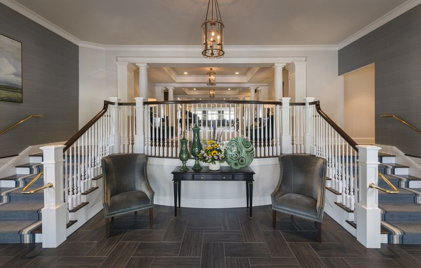 Clubhouse foyer