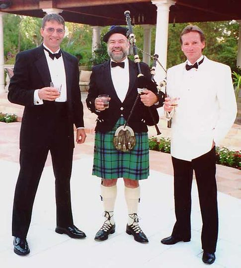 Formal Bagpiper Attire