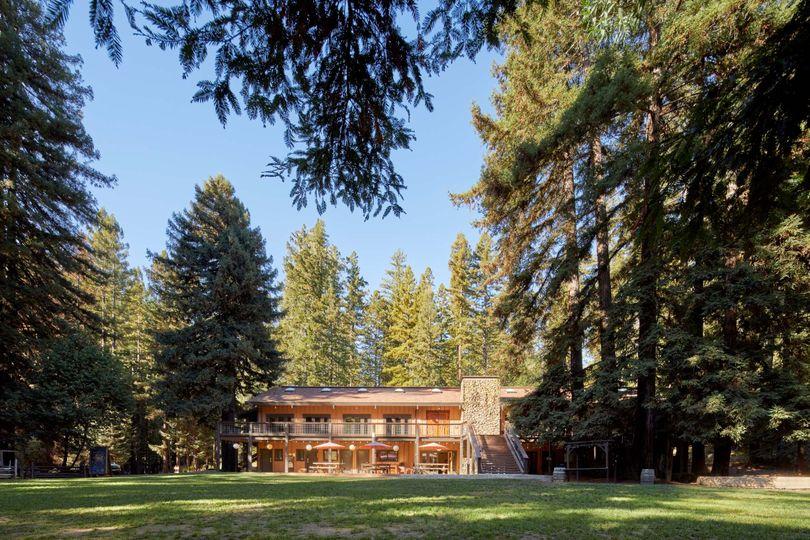 Main Lodge and Lawn