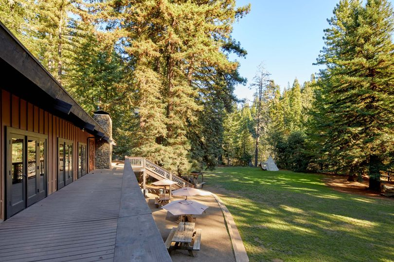 Main Lodge Deck and View