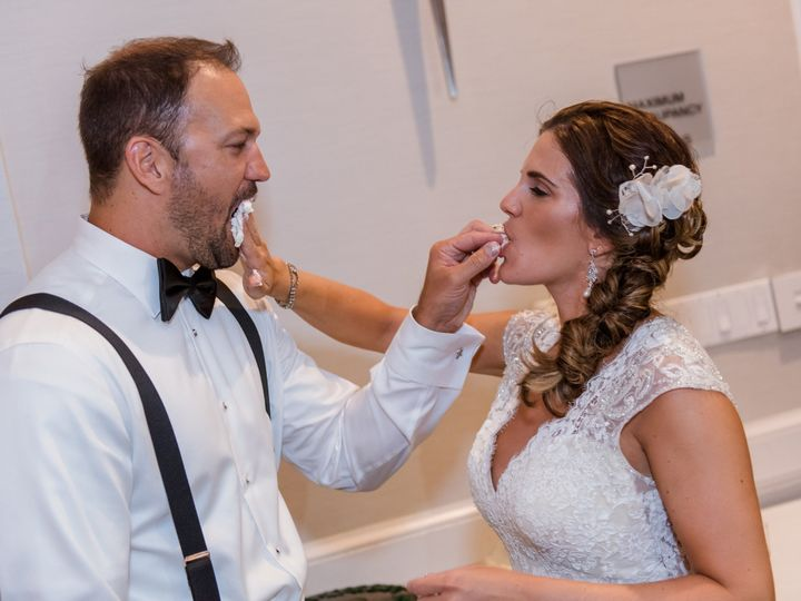 Tmx 1478119262158 Bride And Groom Feeding Cake To Eachother Columbia, MD wedding dj