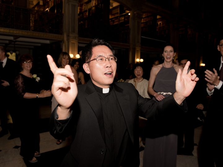 Tmx 1493243173661 Priest Dancing At Peabody Library Columbia, MD wedding dj