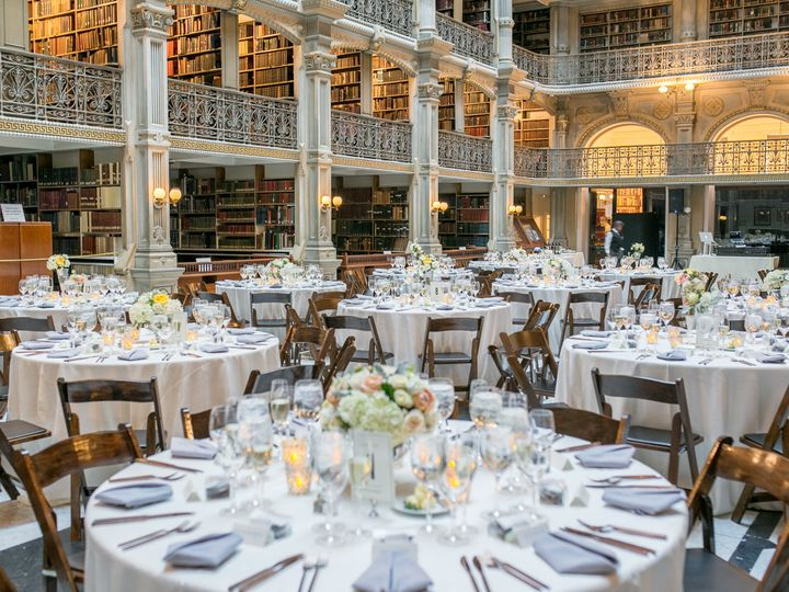Tmx 1493243383305 Peabody Library Wedding Setup Columbia, MD wedding dj