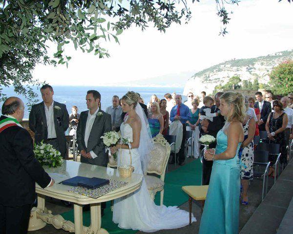 Wedding in Sorrento, Italy