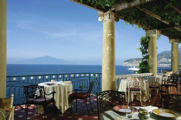 Glamour Reception venue in Sorrento