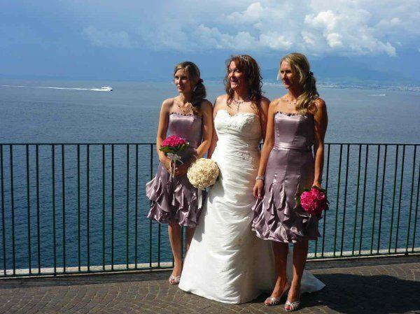 Happy Bride in Sorrento