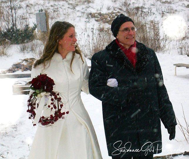 Kari and her Father
