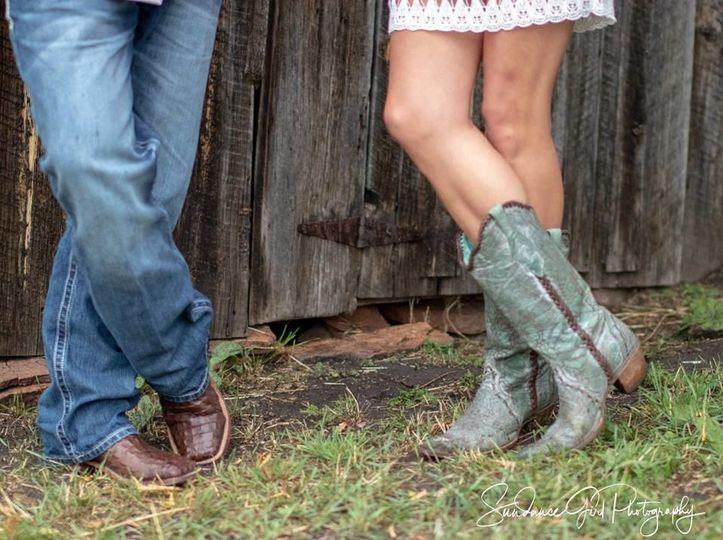 Cowboy/Cowgirl wedding