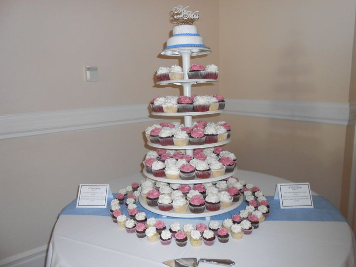 wedding cakes loveland colorado quot b quot sweet cupcakes wedding cake loveland co weddingwire 24952