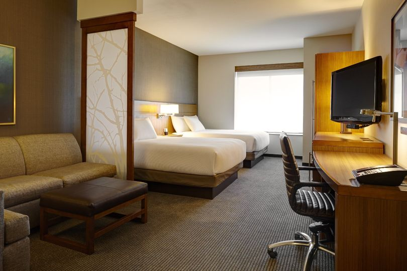 All of our spacious guestrooms feature our plush Hyatt Grand Bed and state-of-the-art media and work...