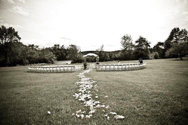 The back lawn is fantastic for an outdoor wedding. You can't beat the lake views!Khanna Photography