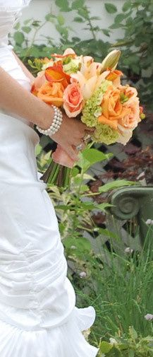 A perfect bouquet for late summer or early fall wedding. An elegant combination of flowers in...