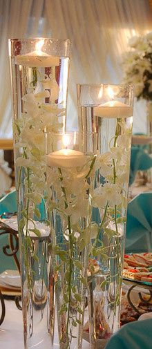 beautiful wedding reception centerpieces 1