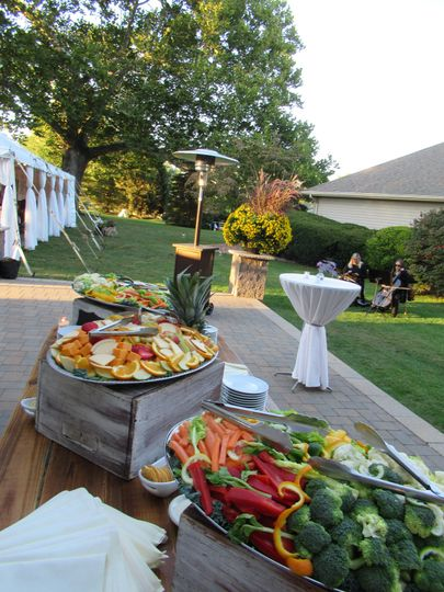 Buffet hors d'oeuvres