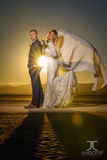 When the sun is bright, it's time to play and have so me fun with wedding portraits.