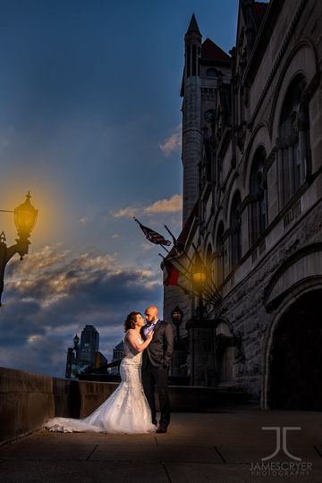 Destination weddings make a beautiful location to create epic portraits.