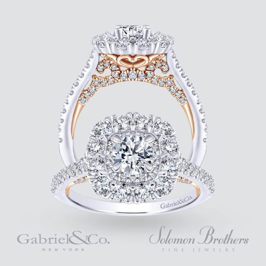 gabriel co two toned ring