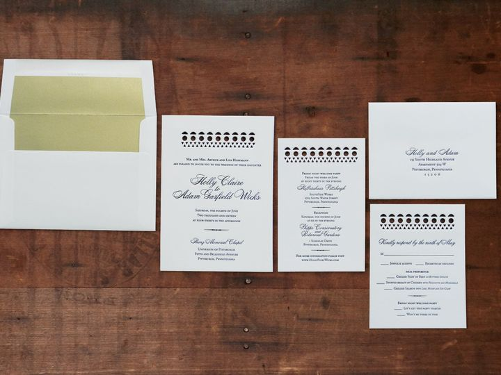 Tmx 1463428159746 Hollyhoffmann Lancaster, PA wedding invitation