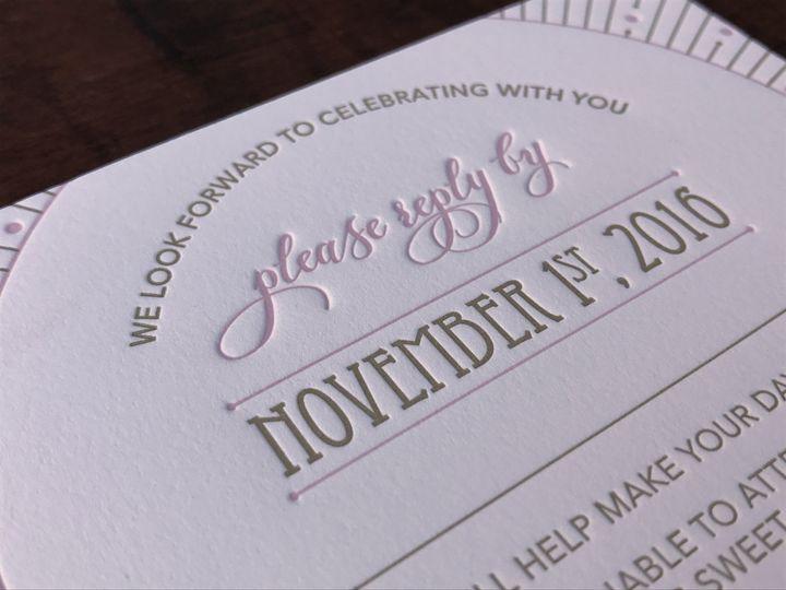 Tmx 1481221616491 Img8021 Lancaster, PA wedding invitation