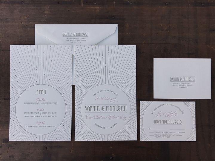 Tmx 1481221678627 Img8027 Lancaster, PA wedding invitation
